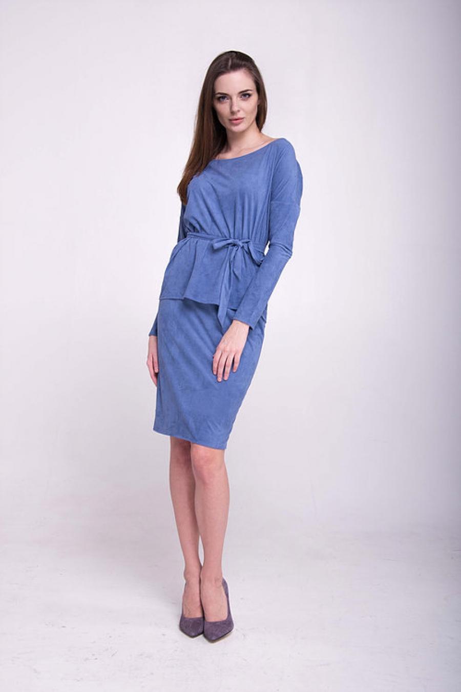 Костюм: блуза с юбкой