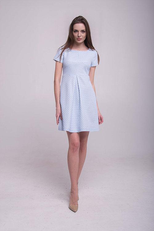 Платье со складой спереди