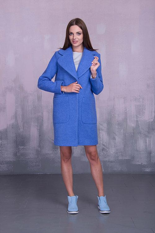 Пальто с большими карманами